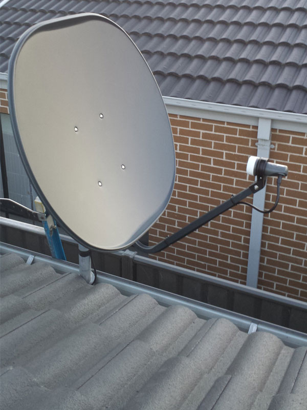 Foxtel Amp Satellite Dish Installations Sharp Amp Clear Antennas